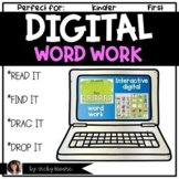 Digital Word Work Distant learning support