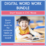 Short Vowels in CVC Words - Digital Phonics Activities | B