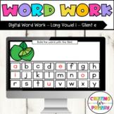 Digital Word Work Long Vowel i Silent e - Distance Learning - Google Slides