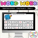 Digital Word Work Long Vowel o Silent e - Distance Learning - Google Slides