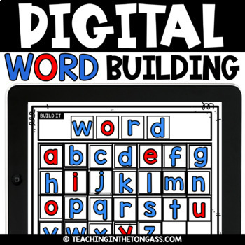 Google Phonics Activities | Digital Phonics | Powerpoint & Google Classroom