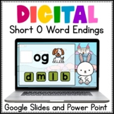 Digital Phonics Word Work Short O Google Slides and PowerPoint