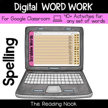 Digital Word Work - Spelling Activities for Upper Elementary