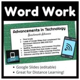 Digital Word Work, Unit 5, Benchmark Advance, 2021
