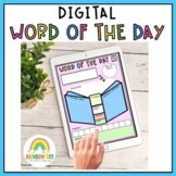 Digital Word of the Day Templates: Vocabulary Activities