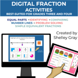 Digital: Working with Fractions (3rd-4th Grade) | Distance