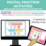 Digital: Working with Fractions (Grades 4-5) | Distance Learning