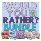Digital Would You Rather?  INTERACTIVE PDF BUNDLE