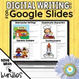 Digital Writing Activity BUNDLE - Google Slides - Google C