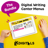 Digital Writing Center Menus | Distance Learning | At-Home