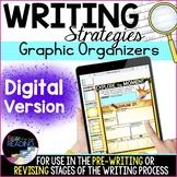 Digital Writing Graphic Organizers: Writing Strategies for