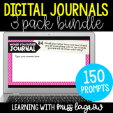 Digital Writing Journal Bundle - Gratitude, Would You Rath