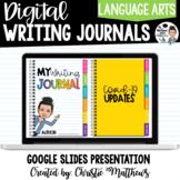 Digital Writing Journal - Customizable with Covid Writing