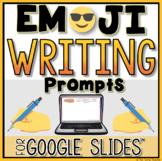 Digital Writing Prompts in Google Slides™| EMOJI Edition