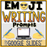 Digital Writing Prompts in Google Slides™| EMOJI Edition