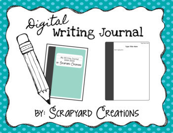 Digital Writing Journal (Google Slides)