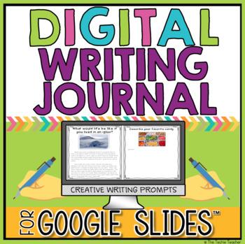 Digital Writing Journal in Google Slides for Creative Writing
