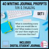 Digital Writing Journal Prompts & Digital Student Journal