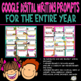 Writing Prompts, Distance Learning, Journal, Google Classr