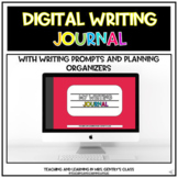 Digital Writing Journal with Prompts - Distance Learning
