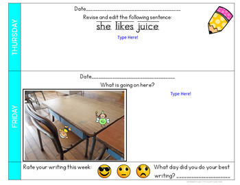 Digital Quick Writes Daily Writing Prompts 1st Quarter
