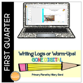 Distance Learning Quick Writes Daily Writing Prompts 1st Quarter