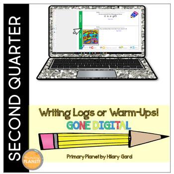 Digital Writing Logs/Warm-Ups 2nd Quarter Writer's Workshop or Homework