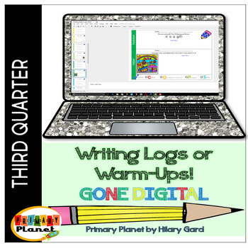 Digital Quick Writes Daily Writing Prompts Third Quarter