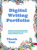 Google Digital Writing Portfolio