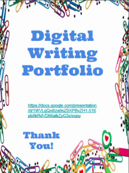 Google Digital Writing Portfolio