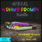 Digital Writing Prompt Bundle