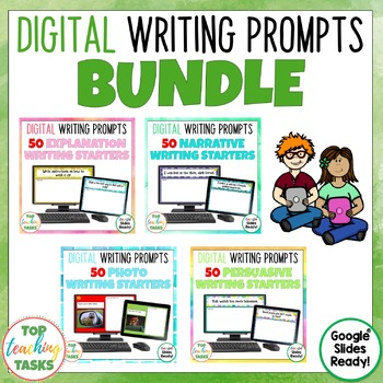 Digital Writing Prompts BUNDLE for Google Drive®