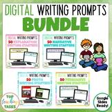 Digital Writing Prompts BUNDLE for Google Drive®