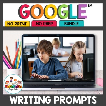 Digital Writing Prompts Bundle