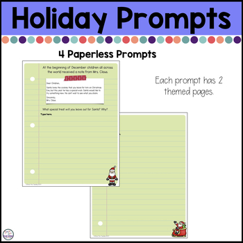 Digital Writing Prompts Bundle