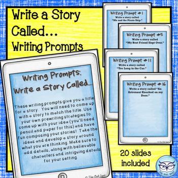 Writing Prompts Task Card Bundle - Year Long Resource