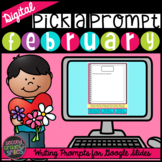 Digital Writing Prompts | February Writing Prompts | Dista