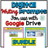 Digital Writing Prompts Full Year Bundle