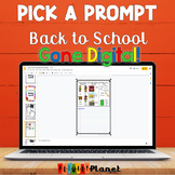 Digital Picture Writing Prompts Google Drive, Microsoft One Drive Back to School