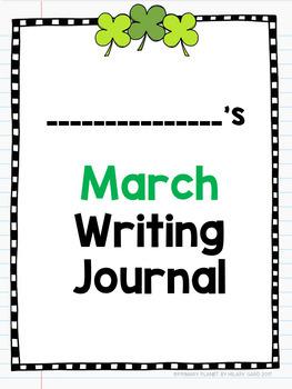 Digital Writing Prompts Google Drive, Microsoft One Drive: March