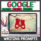Digital Writing Prompts for December