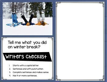 Digital Writing Prompts for January
