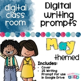 Digital Writing Prompts for May