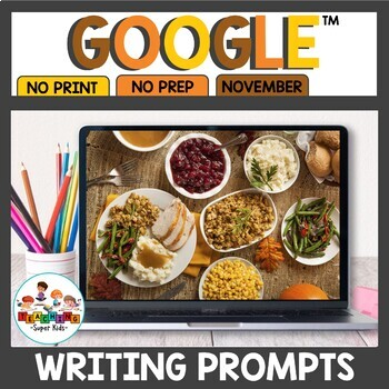 Digital Writing Prompts for November