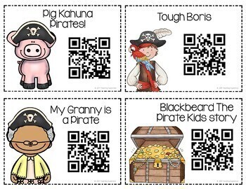 Pirate Themed QR Code Stories