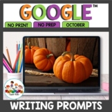 Digital Writing Prompts for October