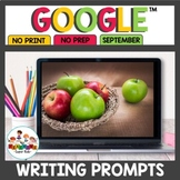 Digital Writing Prompts for September
