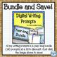 Digital Writing Prompts for the Intermediate Classroom:  E