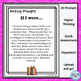 """Writing Prompt Digital Task Cards:  """"If I Were..."""" Prompts"""