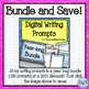 Writing Prompt Digital Task Cards: Story Starters Prompts
